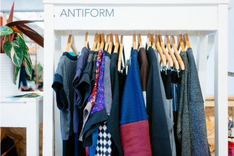 Independent sustainable and upcycled fashion brand Antiform. Photo credit: Morgane Bigault
