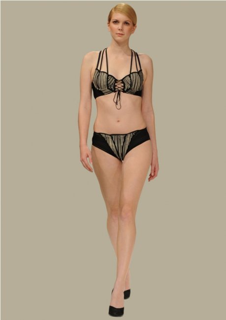 Ethical lingerie designer Charini at Estethica London Fashion Week SS15