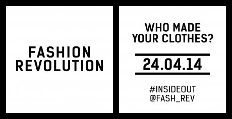 Fashion Revolution Day campaign logo