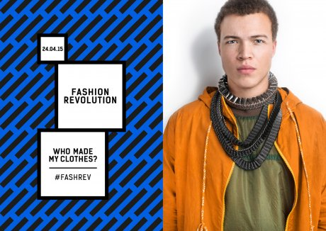 Fashion Revolution Day 24th April 2015, in support of Rana Plaza