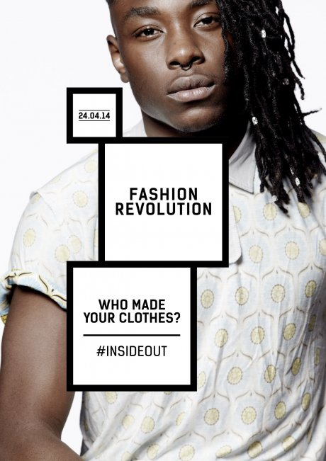Fashion Revolution Day, a global ethical fashion campaign with the theme Who Made Your Clothes