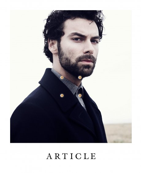 Issue 2 of ARTICLE Magazine from fashion director and stylist Kenny Ho, featuring actor Aidan Turner