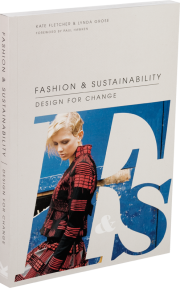 A Picture of Kate Fletcher and Lynda Grose's book-Fashion & Sustainability: Design for Change