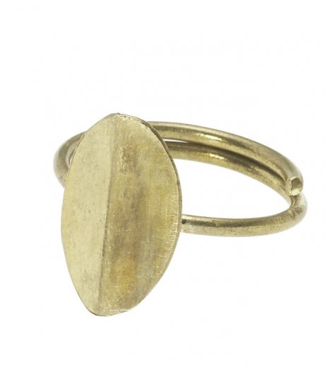 Tiny Leaf Ring in Brass, £10 by Fair Trade and ethical fashion brand People Tree