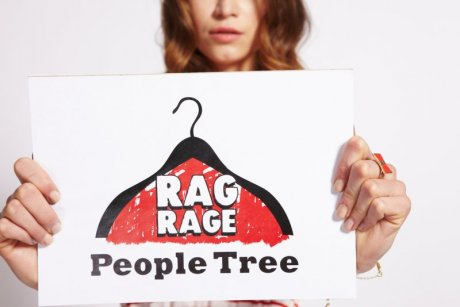 Image of People Tree's Rag Rage campaign