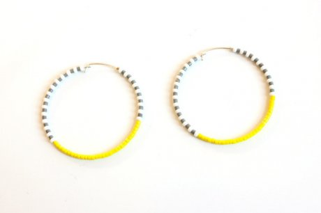 Endito Small Hoop Earrings, handmade in Tanzania, £18 by Sidai Designs from The Keep