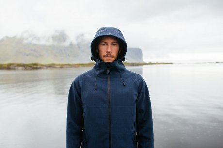 Virtually seamfree Solatium XGS Jacket by Finisterre