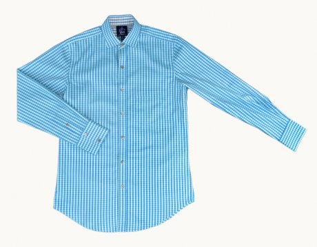 Finsbury Slim shirt made from end of roll cloth, £29.99 by Visible Clothing