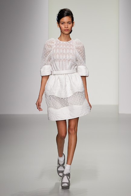 Bora Aksu SS14 collection at London Fashion Week