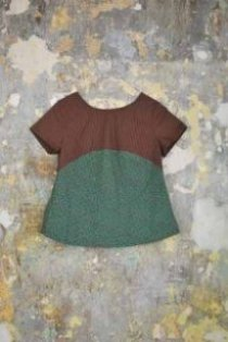 Upcycled top, Brandy Easter / From Somewhere design collaboration