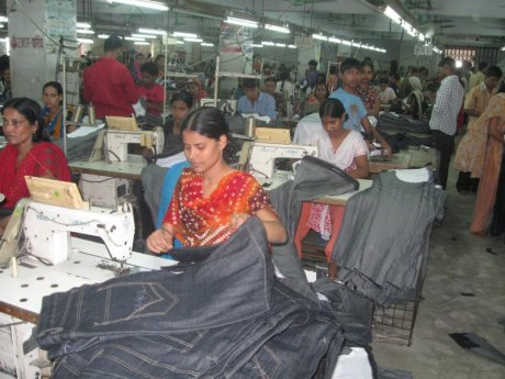 Garment factory workers in Bangladesh. Photo credit: War on Want
