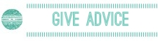 "Graphical link to ""Give Advice"" area on the Good Wardrobe forums"