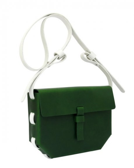 Kate Sheridan London Fashion Week SS15 - veg-tanned leather bag made in the UK