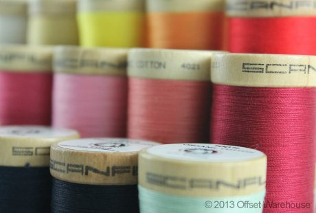Scanfil Organic Cotton Thread from eco ethical online haberdashery Offset Warehouse