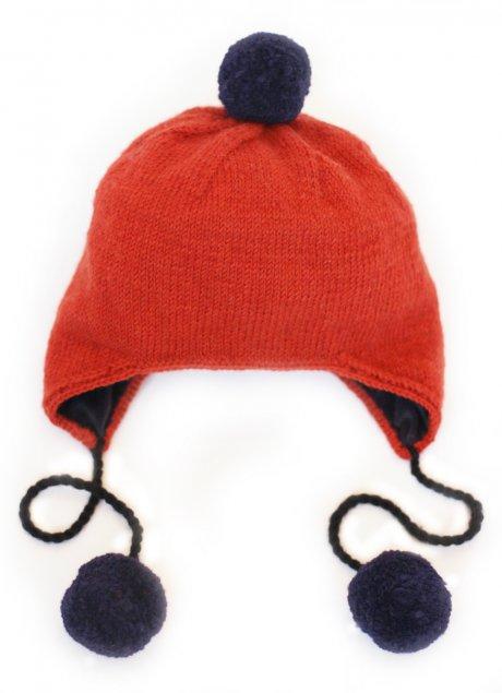 Fair Trade Pom Pom Hat, £9 down from £30 by Here Today Here Tomorrow