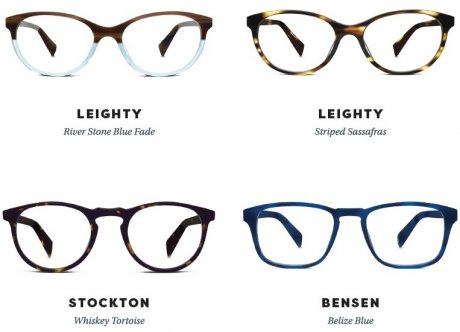 Warby Parker prescription eyewear SS16