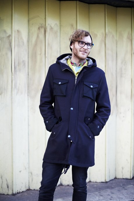 Luxury Italian Wool Parka, £180 made from luxury wool donated by a heritage brand